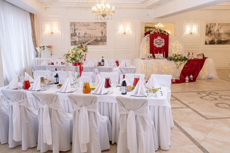 Банкетный зал для свадьбы на 100 человек в Красноярске