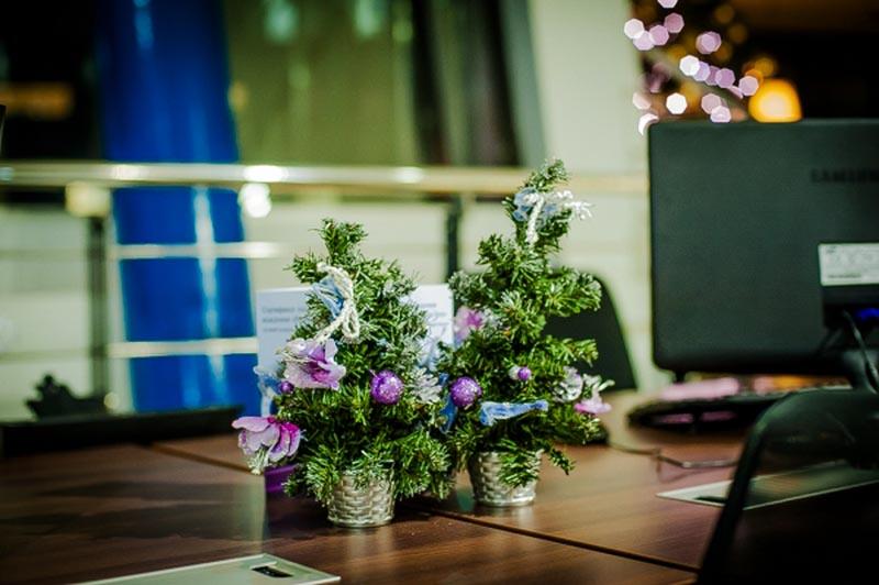 Новый год в офисе Красноярск